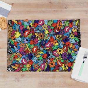 set de table en tissu pour une décoration unique et originale de votre table