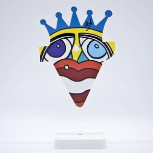 porte lunettes coloré ou repose lunette original et rigolo pour des cadeaux de noel à petits prix et pour toute la famille par Sofi, artiste peintre Perpignan